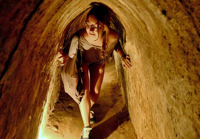 Image result for Cu Chi Tunnels